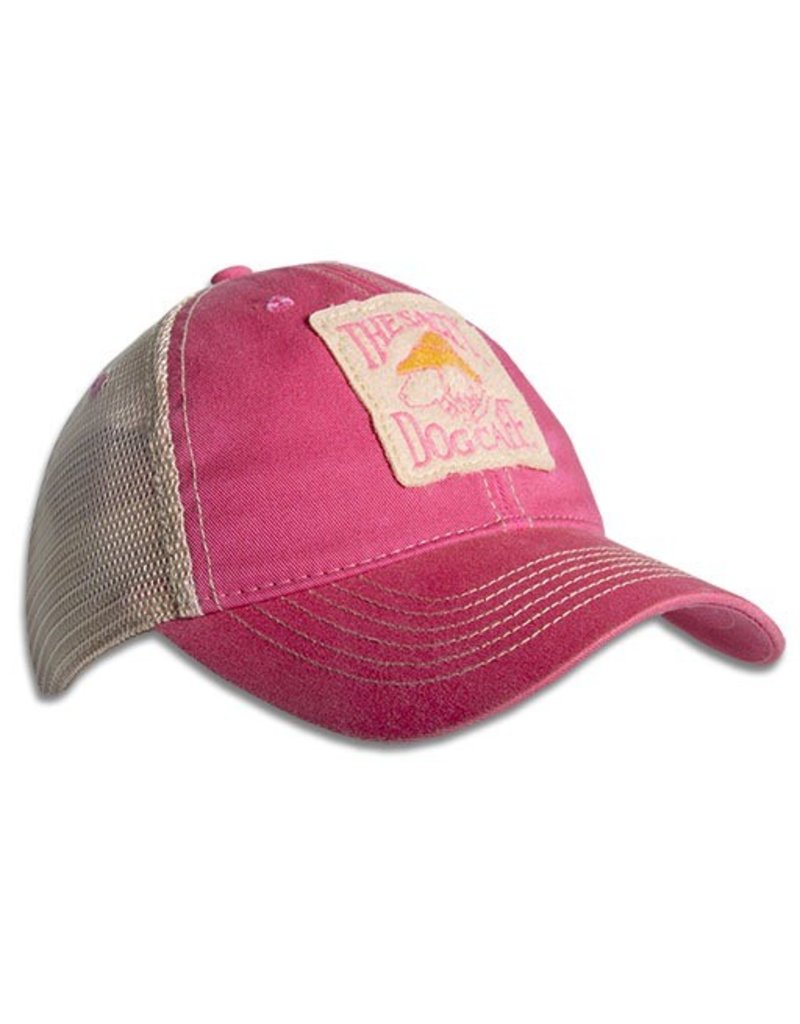 Hat Old Favorite Trucker Hat in Dark Pink