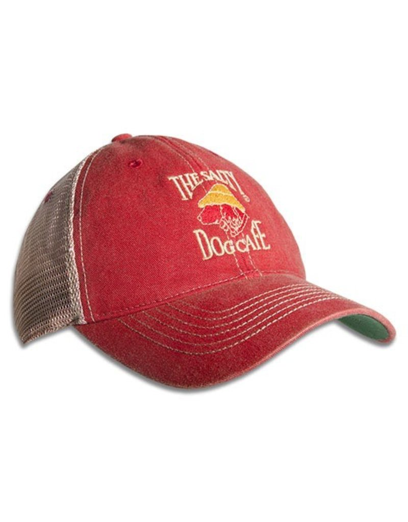 Hat Old Favorite Trucker Hat in Scarlet