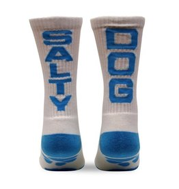 Fuel Socks in White/Light Blue