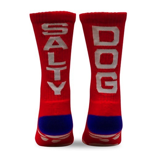 Fuel Youth Socks in Red/Royal