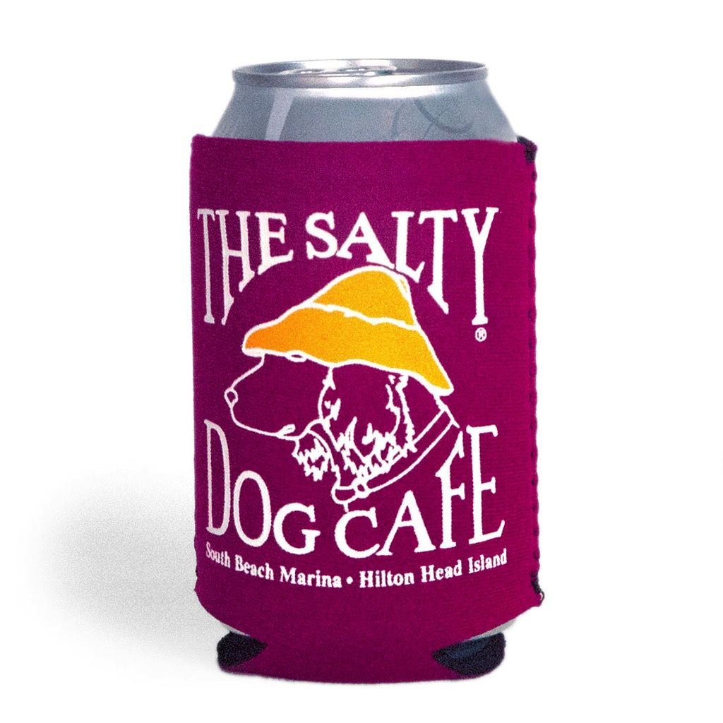 Salty Dog Can Holder in Magenta