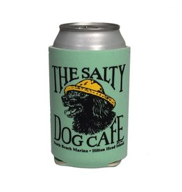 Salty Dog Can Holder in Ice Green