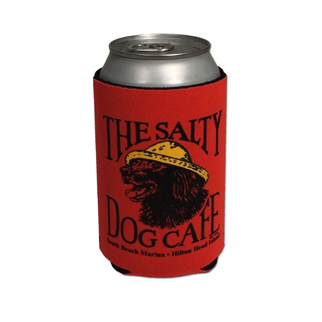Salty Dog Can Holder in Blaze Orange