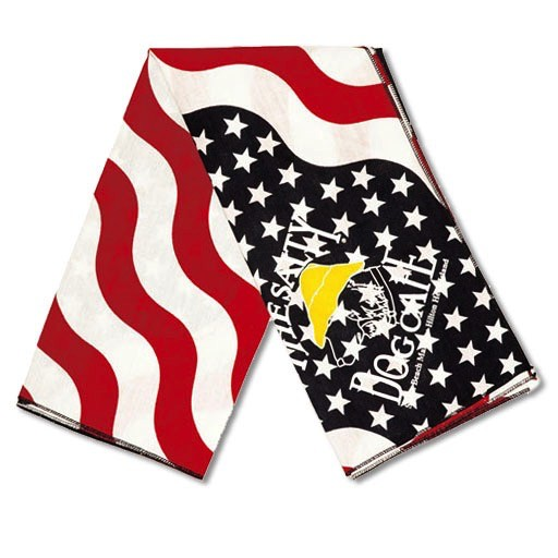 Salty Dog American Flag Large Bandana