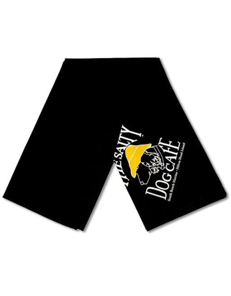 Salty Dog Black Small Bandana