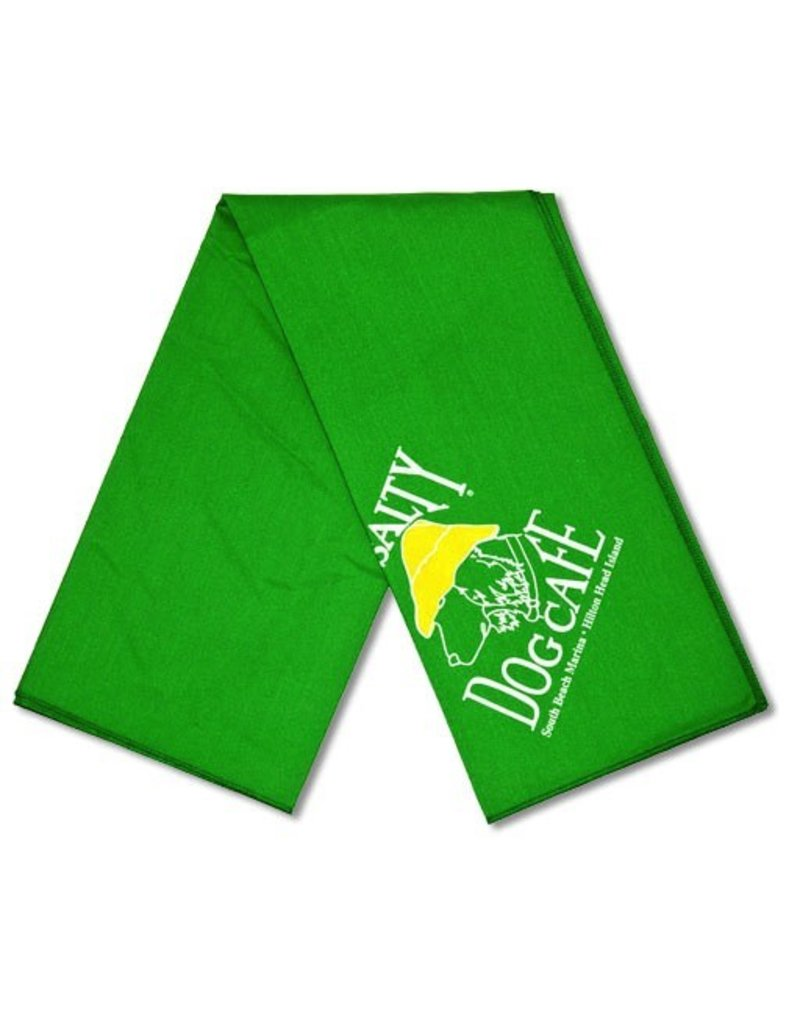 Specialty Items Green Small Bandana