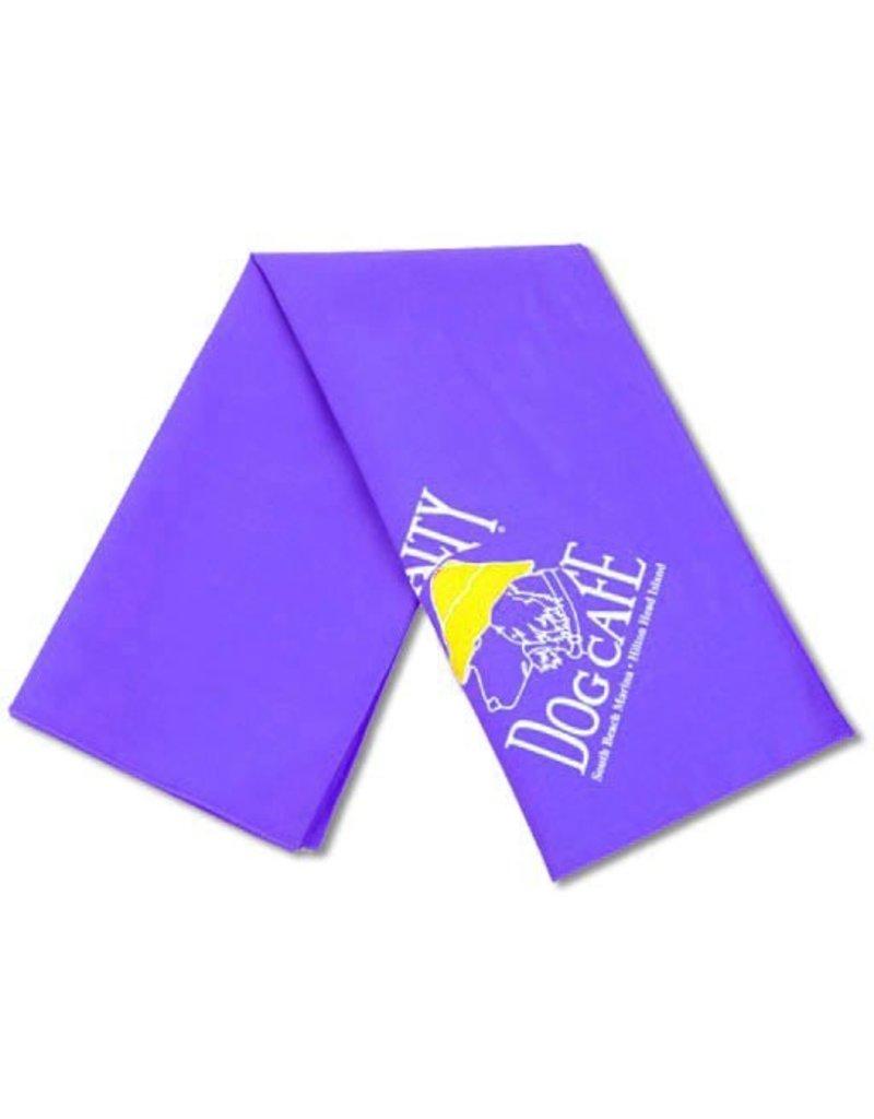 Salty Dog Purple Small Bandana