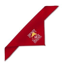 Specialty Items Red X-Small Bandana