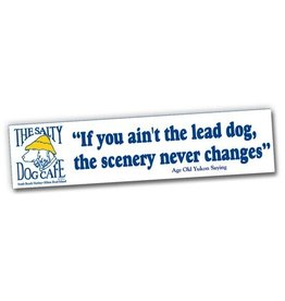 Product Lead Dog Bumper Sticker