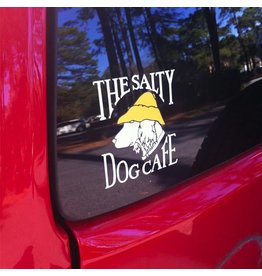 Salty Dog Vinyl Logo Sticker
