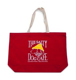 Augusta Deluxe Tote in Red