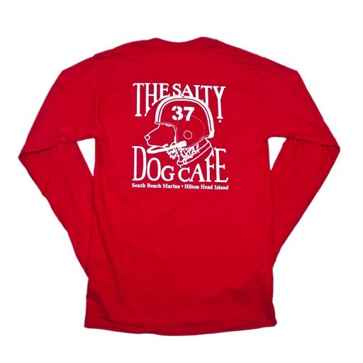 Hanes Football Dog in Red