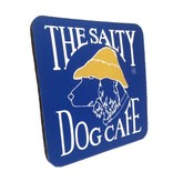 Salty Dog Blue Neoprene Coaster