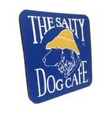 Salty Dog Blue Neoprene Coaster