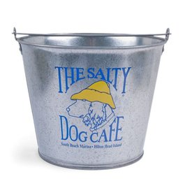 Salty Dog Tin Bucket