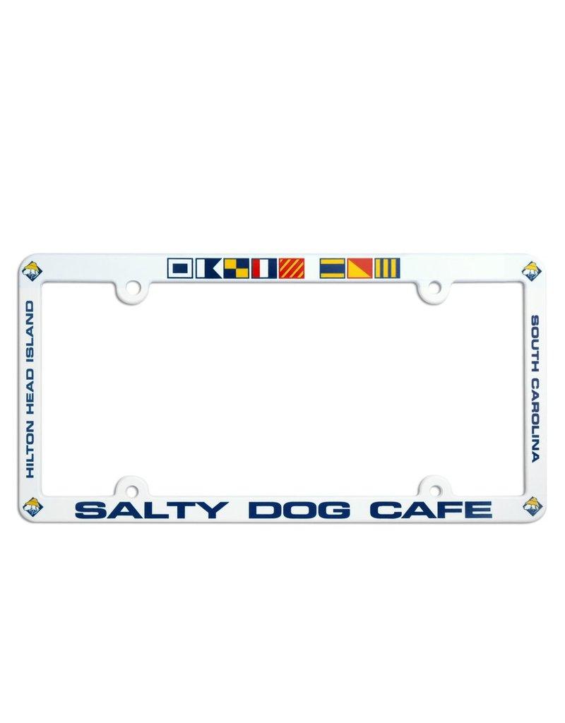 salty dog license plate frame - Dog License Plate Frames