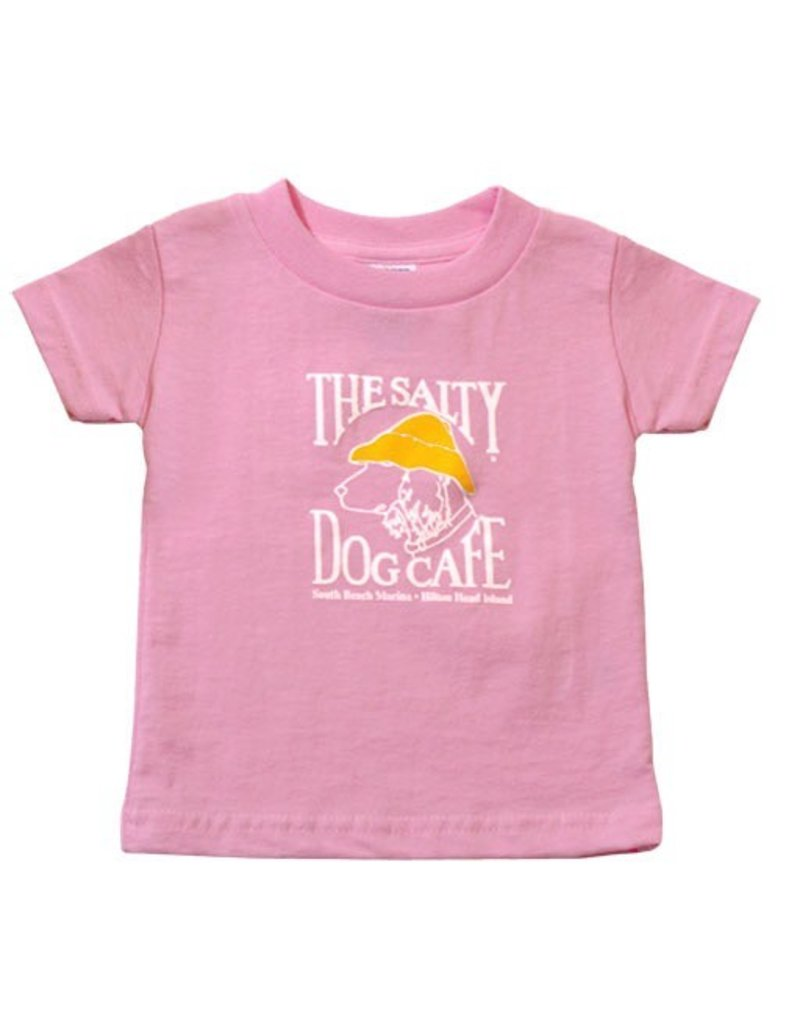 LAT Apparel Infant Tee in Light Pink