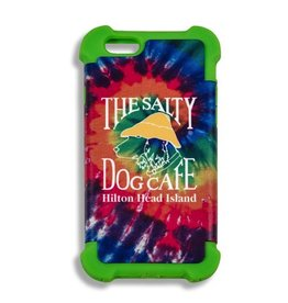 Salty Dog iPhone 6/6s Cover in Green/Tie Dye