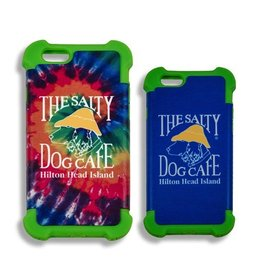 Salty Dog iPhone 6 Plus/6s Plus Cover in Green/Tie Dye