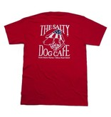 T-Shirt Patriot Dog Short Sleeve in Red