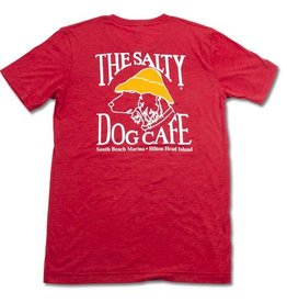 T-Shirt Tri-Blend Short Sleeve in Red