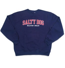Sweatshirt Collegiate Sweatshirt in Navy