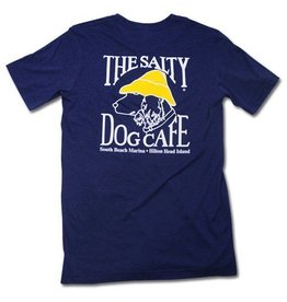 Canvas Tri-Blend Short Sleeve in Navy