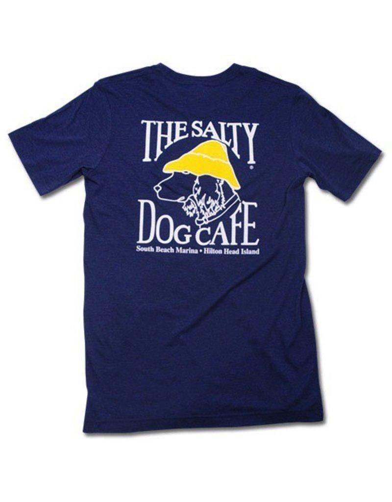 T-Shirt Tri-Blend Short Sleeve in Navy