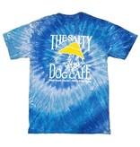 T-Shirt Tie Dye Short Sleeve in Blue Jerry
