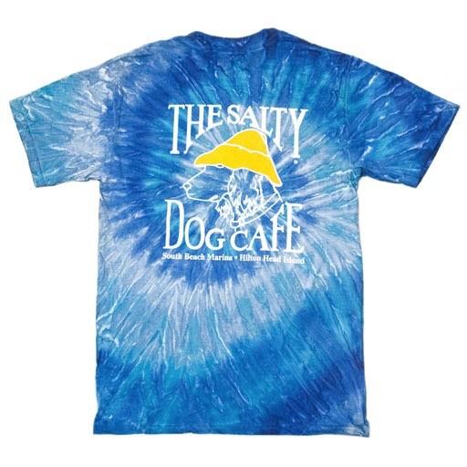 ColorTone Tie Dye Short Sleeve in Blue Jerry