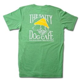 T-Shirt Tri-Blend Short Sleeve in Green