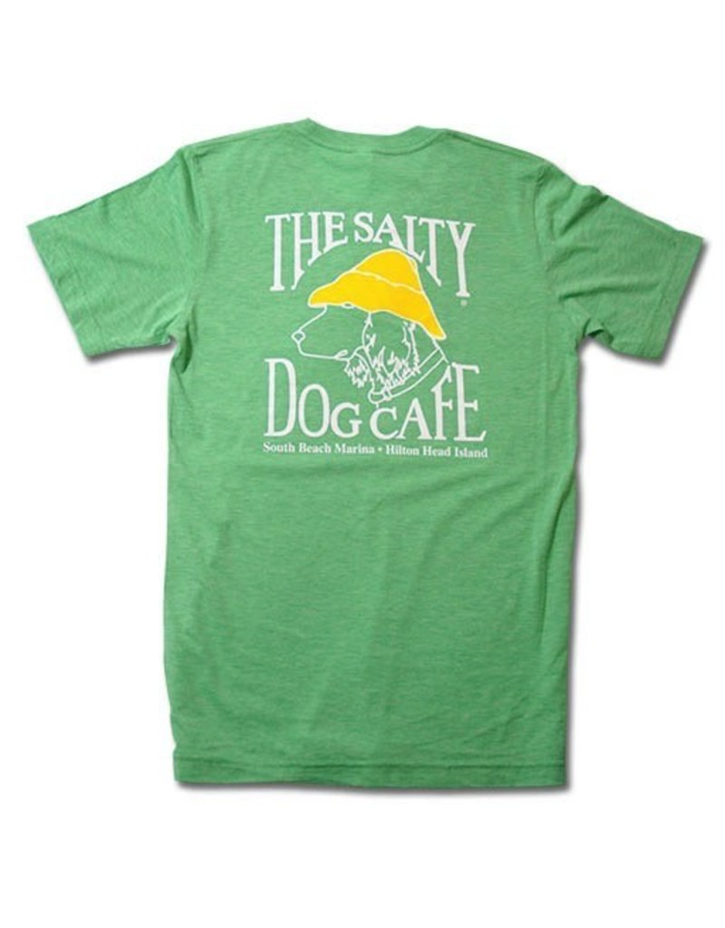 T-Shirt Tri-Blend Short Sleeve in Green