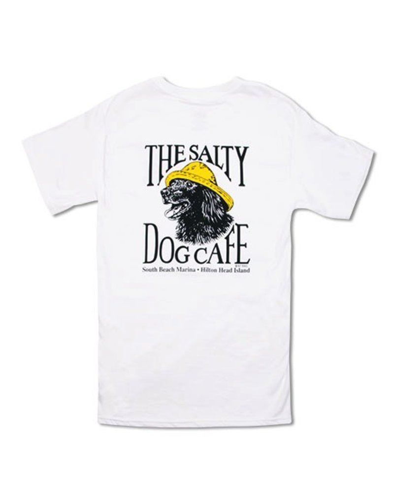 T-Shirt Vintage Jake Short Sleeve in White