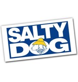 Salty Dog Beach Towel in White