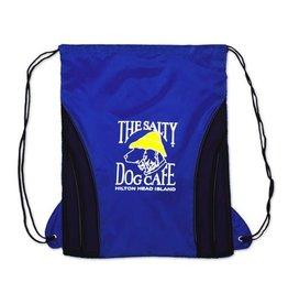 Product Drawstring Bag in Royal