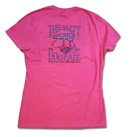 Specialty Prints Women's Plaid Dog in Wow Pink
