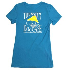 NextLevel Women's Triblend Tee In Vintage Turquoise