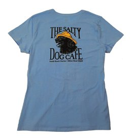 Specialty Prints Women's Vintage Jake Tee in Carolina Blue