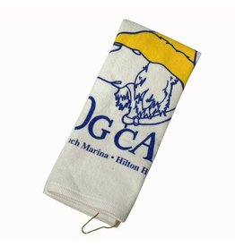 Product Printed Golf Towel in White
