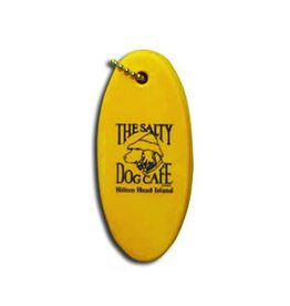 Salty Dog Floating Key Chain in Yellow