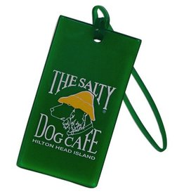 Salty Dog Luggage Tag in Green