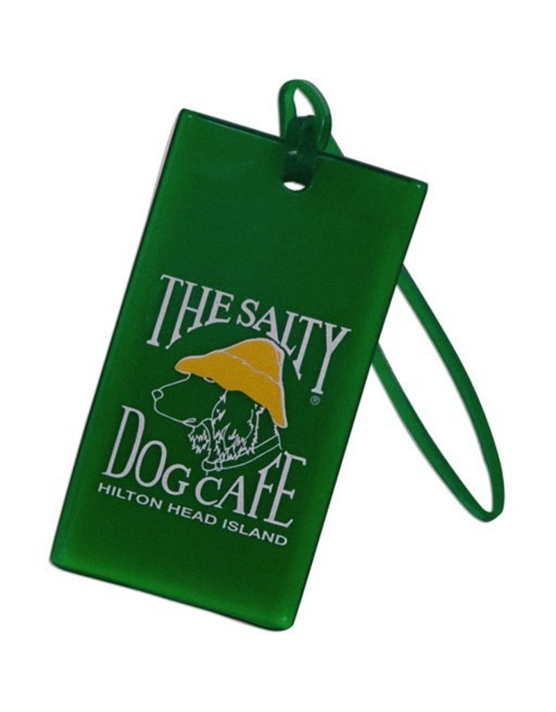 Product Luggage Tag in Green