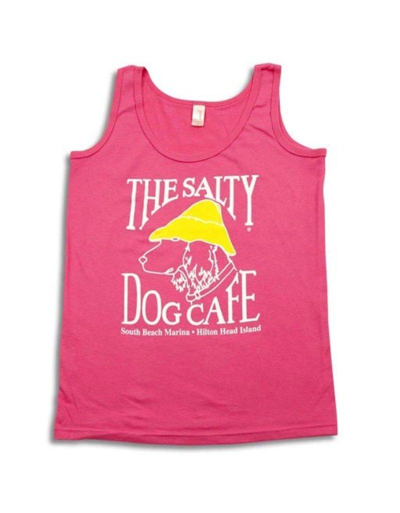 T-Shirt Women's Tank Top in Hot Pink