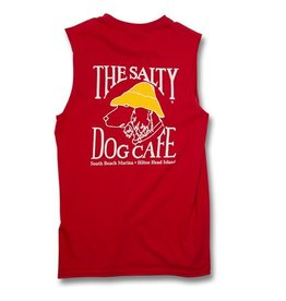 Tank Top Shooter Tee in Red
