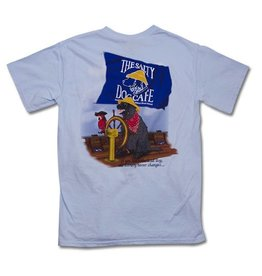 T-Shirt Sailor Jake Short Sleeve in Chambray
