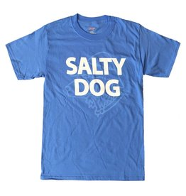 Specialty Prints Plain & Simple Dog Short Sleeve in Carolina Blue