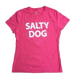Specialty Prints Women's Plain & Simple Tee in Wow Pink