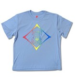 Specialty Youth Rash Guard in Light Blue