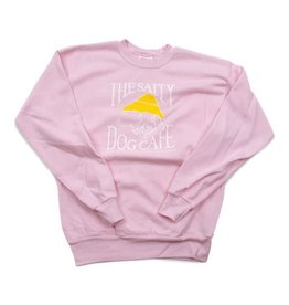 Sweatshirt Youth Crew Neck Sweatshirt in Pale Pink