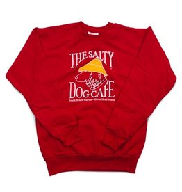 Sweatshirt Youth Crew Neck Sweatshirt in Red